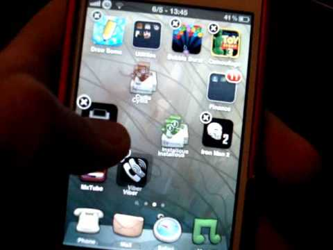 Iphone 4 (5.1.1 jailbreak ) Icons Problem Fix IN THE COMMENTS