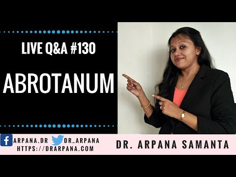 ABROTANUM Homeopathic Medicine For Marasmus Children || Live Homeopathic Consultation #130