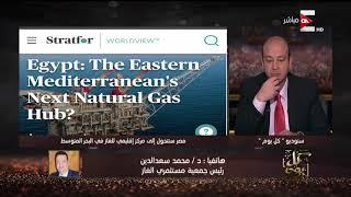 كل يوم - رئيس جمعية مستثمري الغاز : لو خدنا من قبرص الغاز كدا ضمنا أمن قومي لينا