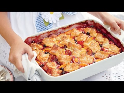 How To Make A Patchwork Cobbler | Southern Living