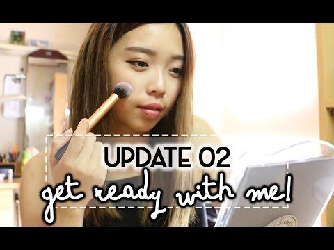 New Piercings, Clubbing & Extending My Stay in Korea (Chatty GRWM)   UPDATE 02