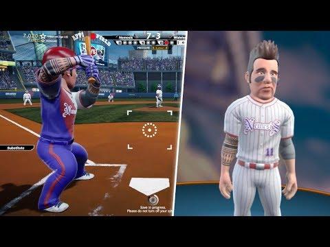 CREATING PLAYER AND GETTING DRAFTED! Super Mega Baseball 2!