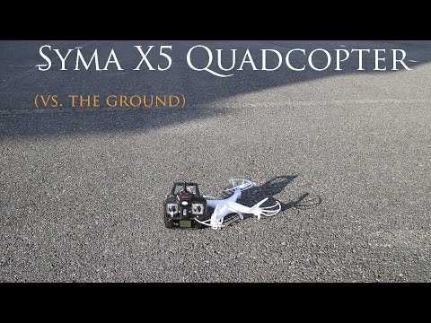 Syma X5 Quadcopter - Learning to Fly