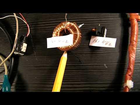 1 transistor pure sine wave oscillator 14 KHz-160 KHz schematic
