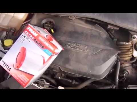 Changing 2014-2017 Ford Escape 1.5 & 2.0 Ecoboost Engine Air Filter, FRAM Engine Air Filter(How To)