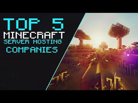 Top 5 - Minecraft Server Hosting Companies!