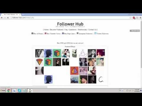 Buy Tumblr Followers - Follower Hub