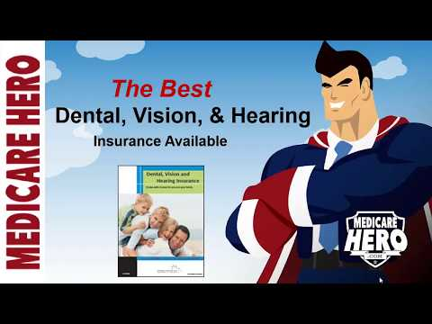 Dental, Vision, and Hearing coverage all in one GREAT plan!