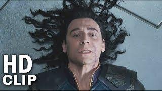 Thor Electrocutes Loki Scene | Marvel
