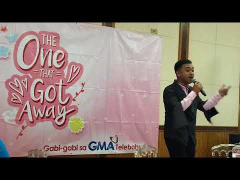 Nar Cabico sings TOTGA theme song GAGA live | The One That Got Away Exclusive Screening