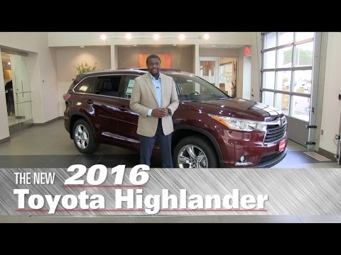 The New 2016 Toyota Highlander XLE - Minneapolis, St Paul, Brooklyn Center, MN - Review