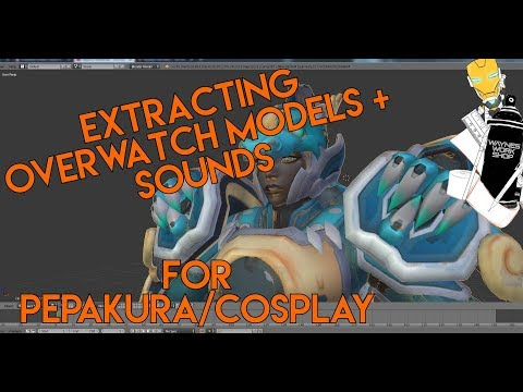 Extracting Game Models - OVERWATCH EDITION + Sounds