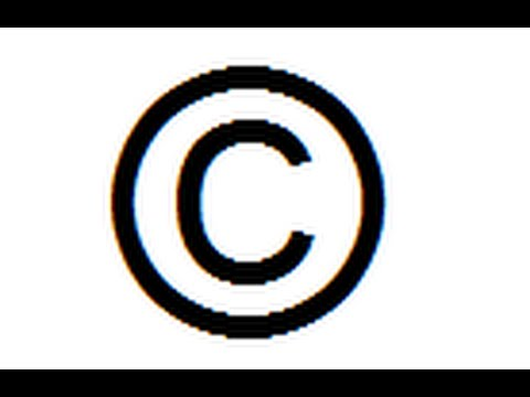 how to make copyright Symbol on notepad