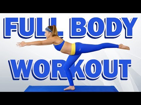 Flexible & Fit! Total Body Workout  & Flexibility Routine with Nico, Beginners At Home Exercises