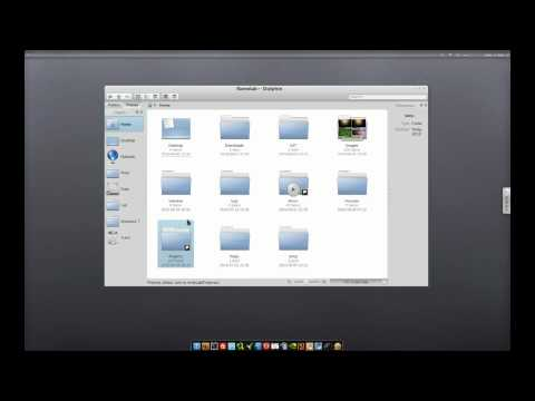 KDE Tutorials #8: Using Dolphin file manager