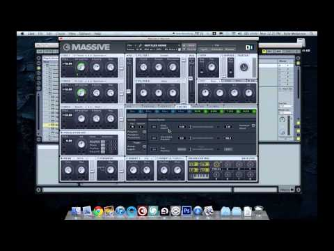 Dubstep / Drum n Bass vocal growl massive synth tutorial