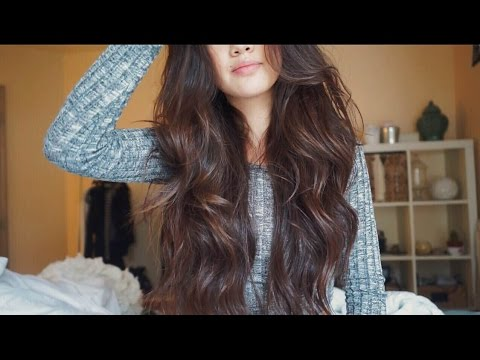 Easy Loose Curls in under 10 mins | viviannnv