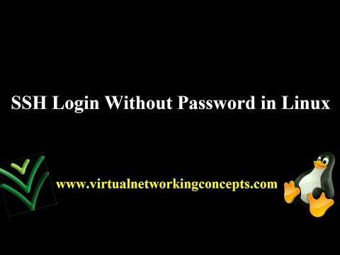 SSH Login Without Password in Linux