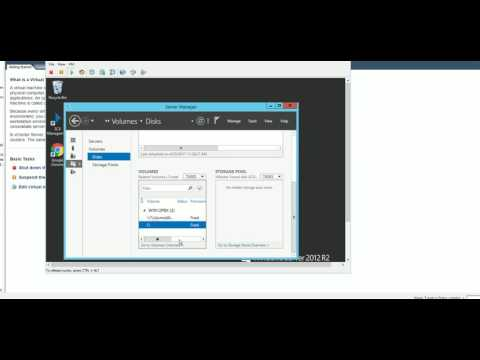 How to expand extend disk space Windows 2012 2016 vm ESXi 5 or 6