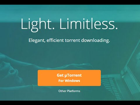 How to Download Big Size Contents Using uTorrent