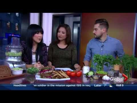 Meatless Monday on The Morning Show (Global TV)