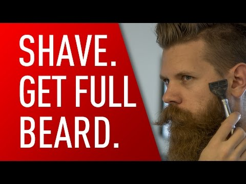 Shave for a Thicker Beard | Eric Bandholz