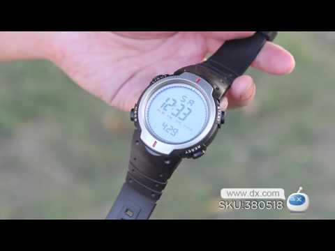 DX: Stylish Water-resistant Digital Sports Watch for Men