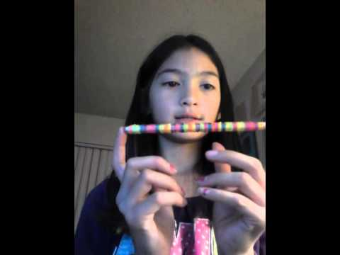 How to make a pencil grip with loom bands
