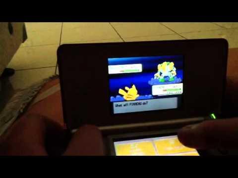 Capturing regigigas without the 3 regis pokemon diamond par