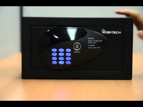 Electronic Residential Safe - How to Unlock the Safe with Master Code