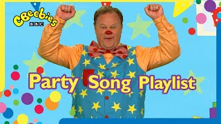 Mr Tumble's Party Song Playlist | CBeebies