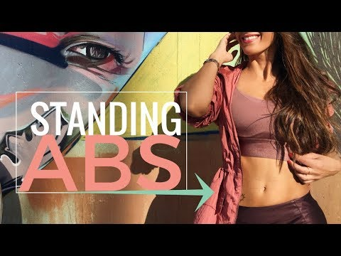 Flat Abs in 5 Minutes | Standing Abs Workout To Reduce Your Abdomen