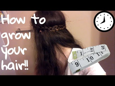How to grow your hair in less than an hour!! Quick & Easy steps!! Bri Z