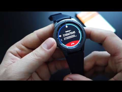 Gear S3 Frontier: configuration, settings, widgets, notifications, calls, sound