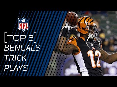 Top 3 Bengals Trick Plays | #TrickPlayThursdays | NFL