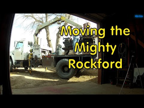 Moving the Rockford Lathe