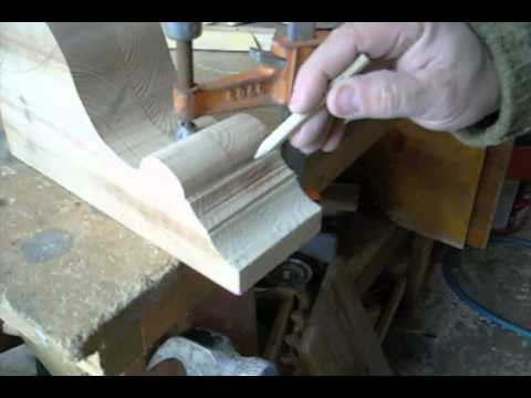 Making Decorative Corbels or support brackets.