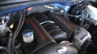lq9 with ls3 heads intake and throttle body.