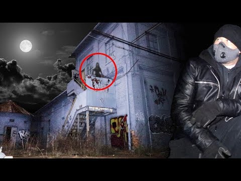 EXPLORING HAUNTED ABANDONED GANGSTER HIDEOUT AT 3AM | OmarGoshTV