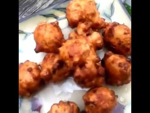 How to Deep Fry Conch Fritter King Batter