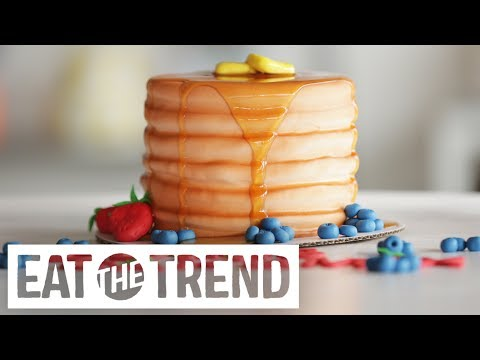 How to Make a Pancake Cake | Eat the Trend