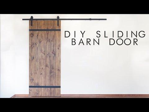 DIY Modern Sliding Barn Door | Modern Builds | EP. 43