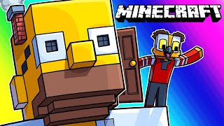 Download Minecraft Funny Moments - The Giant Exploding Homer Prank! Video