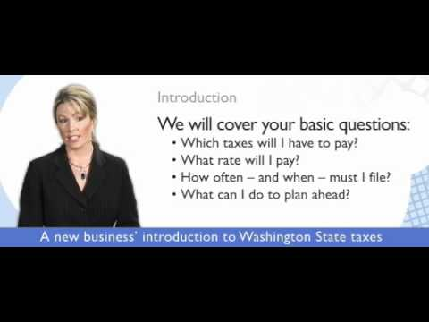 Wa State Business Taxes