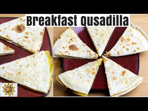 Quick Breakfast Egg Quesadilla | Egg Quesadilla Party Food | Quick Finger Food Egg Quesadilla