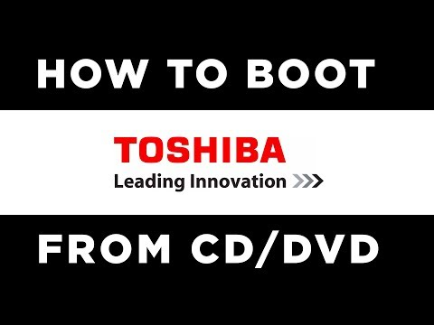 How to Boot Toshiba Laptop From CD | Install Windows Toshiba Satellite (2018)
