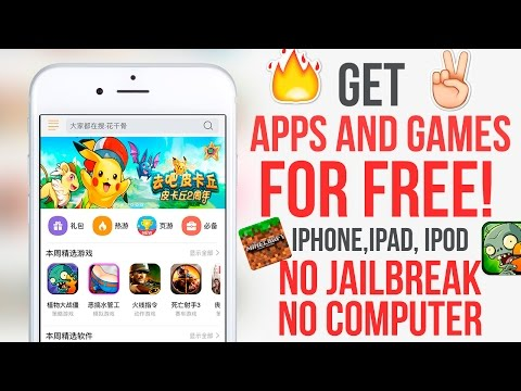 Install Paid Apps for Free IOS 11 - 11.2.5 / 11.2.2 No Jailbreak No Computer iPhone, iPad, iPod