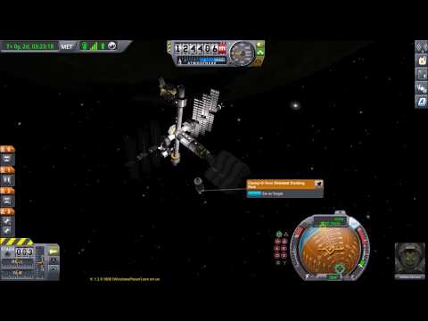 [Kerbal Space Program] How to efficiently match orbits to prepare for docking.