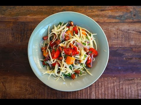 How To Make Green Mango Salad