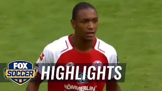 Abdou Diallo gets important touch for 2-1 lead | 2017-18 Bundesliga Highlights